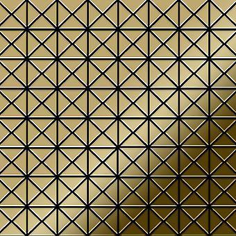 Metal mosaic Titanium ALLOY Deco-Ti-GM