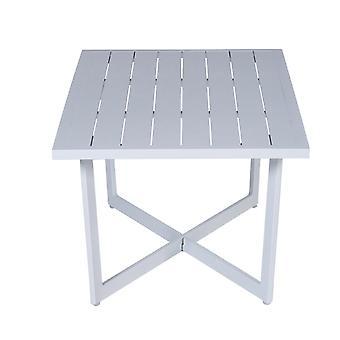 Table d'appoint de jardin Impressions Ivy, 5xH47 110 x 62 cm-blanc