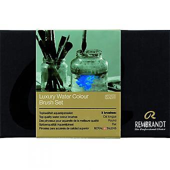 Royal Talens Rembrandt Luxus Aquarell Pinsel Set