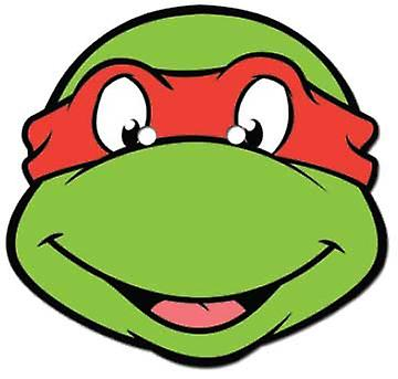Raphael Teenage Mutant Ninja Turtles Card Face Mask