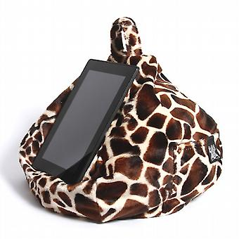 iBeani iPad, Tablet & eReader Bean Bag Stand / Cushion - Baby Giraffe