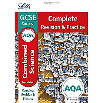 Letts GCSE Revision Success - New Curriculum - AQA GCSE Combined Science Foundation Complete Revision & Practice
