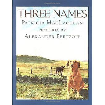 Tre namn