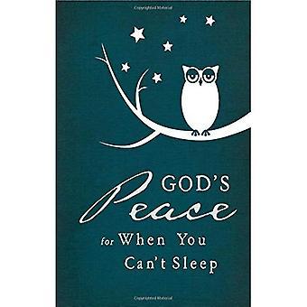 God's Peace When You Can't Sleep