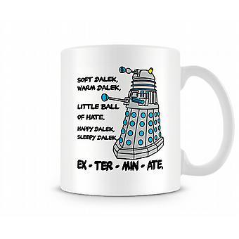 Мягкие Dalek, теплый Dalek, маленький шарик ненависти кружка