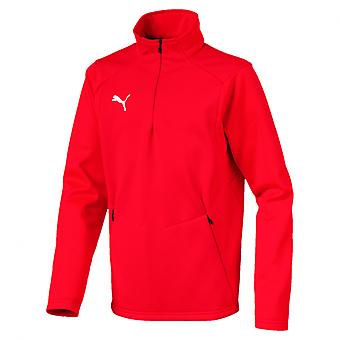 PUMA League training fleece Jr children sweater Red