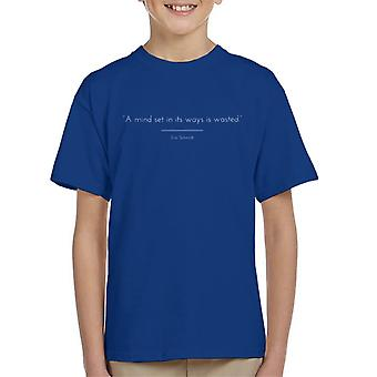 Mindfulness Eric Schmidt Quote Kid's T-Shirt