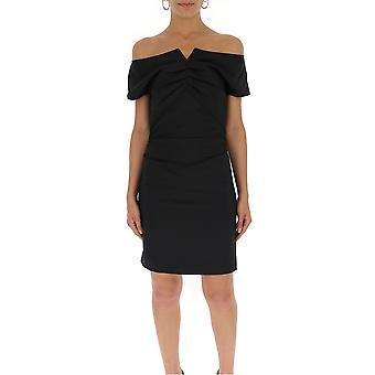 Helmut Lang Black Cotton Dress
