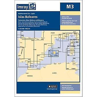 Imray Chart M3 - Islas Baleares - Formentera - Ibiza - Mallorca - Meno