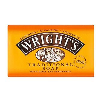 Wrights Coal Tar Soap Original Bath 125G