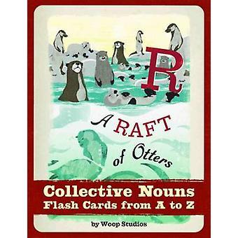 A Raft of Otters Collective Nouns Flash Cards par Woop Studios