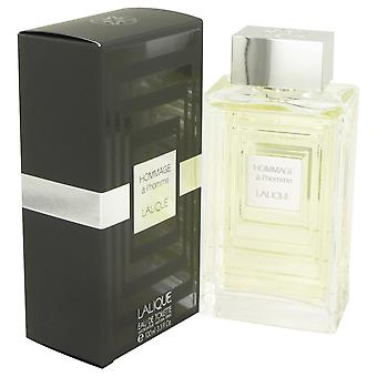 Lalique Hommage a L'Homme by Lalique Eau De Toilette Spray 3.3 oz / 100 ml (Men)