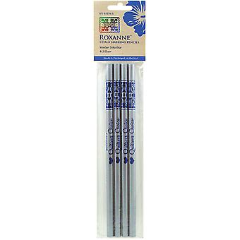 Water Soluble Chalk Marking Pencils 4 Pkg Silver Rx Bpen S