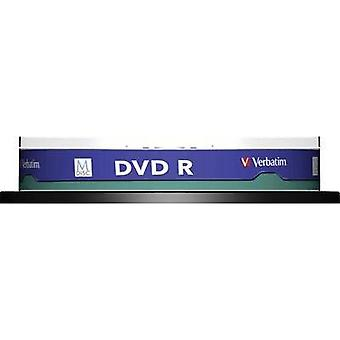 Blank M-Disc DVD 4.7 GB Verbatim 43824 10 pc(s) Spindle Printable