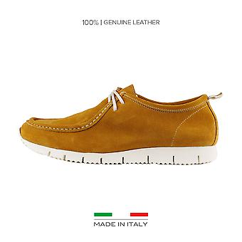Made in Italia Lace up Yellow men's