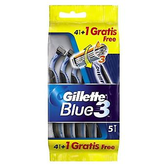 Gillette Blue Machine 3 Bag 4 A + 1 A (Herren , Rasieren , Rasierklingen)
