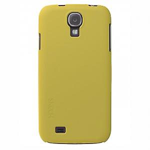 Skech slim snap on cover Samsung Galaxy S4 i9500 yellow