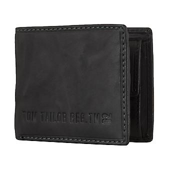 TOM TAILOR men's purse wallet purse black 4806