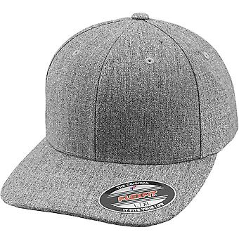 Flexfit PIANURA CHIP Stretchable curvo Cap - heather grey