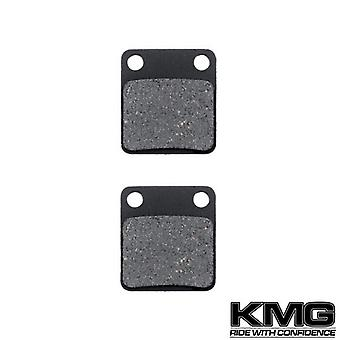 KMG 2005-2006 United Motors Powermax 150 XX Front Non-Metallic Organic NAO Disc Brake Pads Set