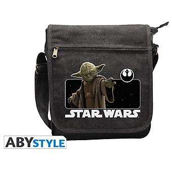 Abysse Star Wars Messenger Bag Yoda Small Size With Hook