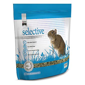 Supreme Science Selective Degu Brocolli & Basil 350g (Pack of 5)