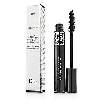 Christian Dior Diorshow volumen edificable pestañas extensión efecto Mascara - # 090 Pro negro - 10ml / 0.33 oz