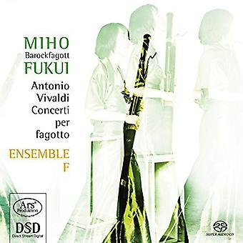 Vivaldi / Fukui / conjunto F - contras para fagot Rv 472 481 495 498 501 717 importación de Estados Unidos [SACD]