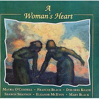 Kvindens hjerte - kvindes hjerte [CD] USA importerer