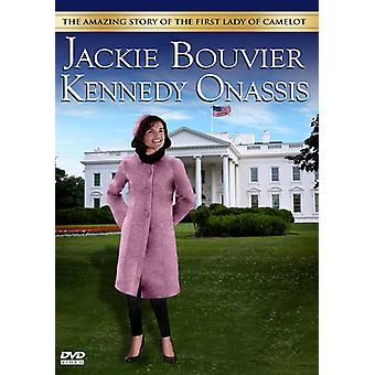 Jackie Bouvier Kennedy Onassis [DVD] USA importerer