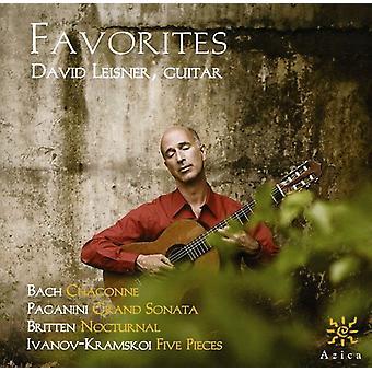 Bach/Paganini/Britten/Ivanov-Kramskoi - favoritter [CD] USA import