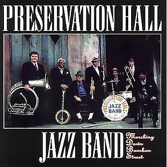 Preservation Hall Jazz Band - Marching Down Bourbon Street [CD] USA import