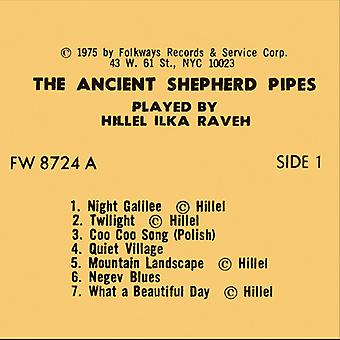 Hillel Raveh - Ancient Shepherd Pipes [CD] USA import