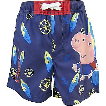 George Peppa Pig boys swim trunks / shorts