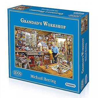Gibsons Grandads Workshop - 1000 Piece Puzzle