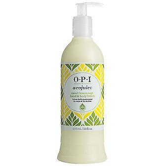 BPR Avojuice main et lotion pour le corps – sauge citron doux
