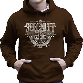 Serenity FireFly Pioniere Browncoats vereinen Herren Sweatshirt mit Kapuze