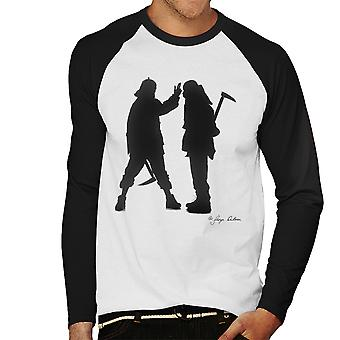 Mobb Deep Silhouette Men's Baseball Long Sleeved T-Shirt