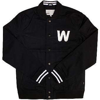 WeSC Silvola Baseball Jacket Black