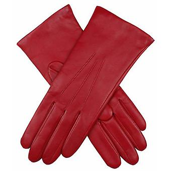 Dents Isabelle Cashmere Lined Hairsheep Leather Gloves - Berry