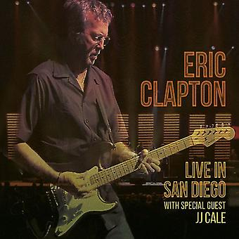 Eric Clapton - Live i San Diego (med speciell gäst Jj Cale) [CD] USA import