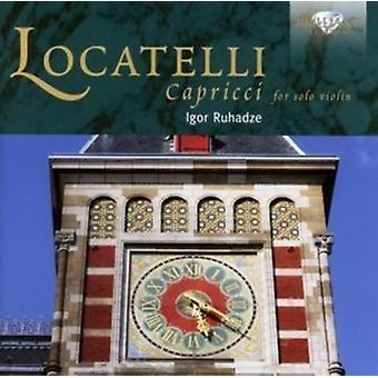 Igor Ruhadze - Locatelli: Capriccii för soloviolin [CD] USA import