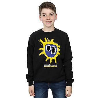Primal Scream Boys Screamadelica Logo Sweatshirt