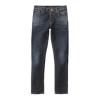 Nudie Jeans Co strakke Terry Skinny Fit Jeans (dubbel Indigo)