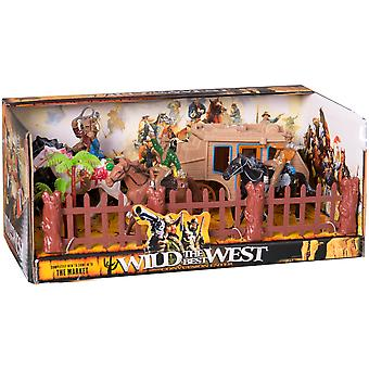 Juinsa Set Indios Y Vaqueros (Toys , Action Figures , Dolls)