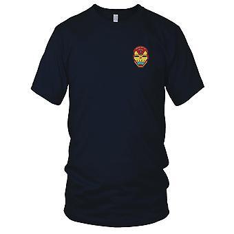 NASA - SP-50 GPS IIF Atlas Vega Embroidered Patch - Ladies T Shirt