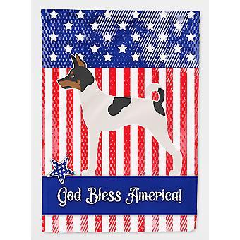 Amerikansk leketøy Rev Skrekkelig amerikansk flagg House lerretet