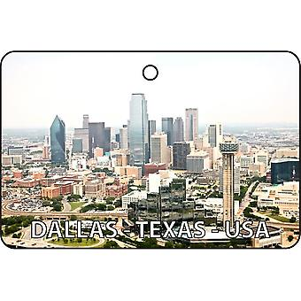 Dallas - Texas - USA Car Air Freshener