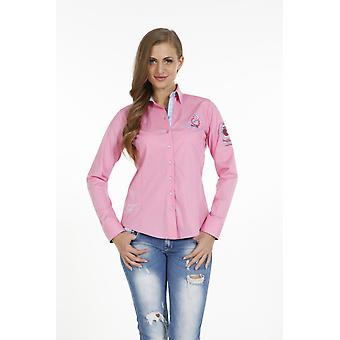 Pontto Bluse Pink Line Collection Rosa