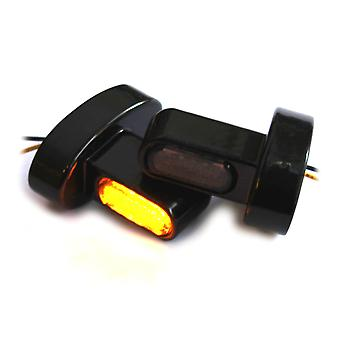 Iron optics motorcycle LED indicator Harley mini